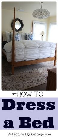 How to Dress a Bed -