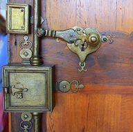 Ornate door locks (L...