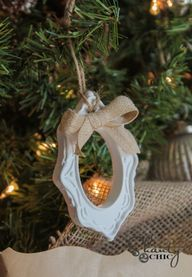 Frame Ornament DIY