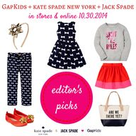 GapKids and kate spa