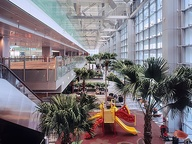 Airport play areas--