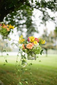 Hanging Flowers for