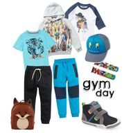 """Preschool Gym Day"""