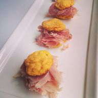 Sweet Potato Ham Bis