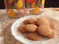 Soft Ginger Cookies Recipe @ treatntrick.blogspot.com