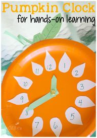 This pumpkin clock c