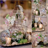 Vintage wedding deco