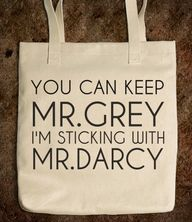 Mr. Darcy Tote. So t