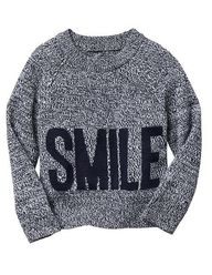 Smile sweater--perfe