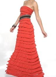 Case Ruffle Maxi Dress