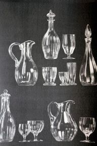 glass table ware wal...