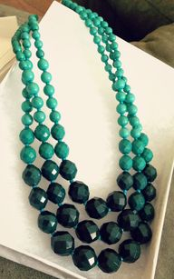 Ombre Necklace - Tea...