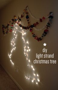 diy light strand chr