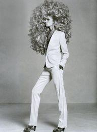 crazy hair!
