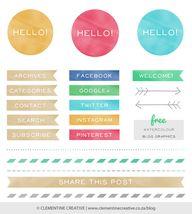 Free Blog Graphics -