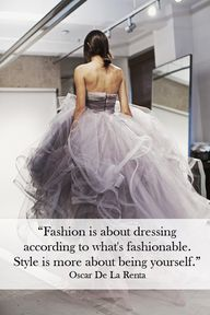 """#Fashion is about d..."