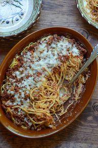 Baked Spaghetti Cass
