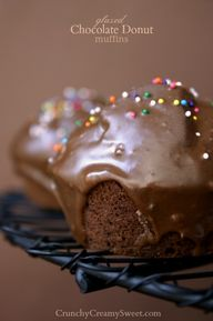 Glazed Chocolate Don