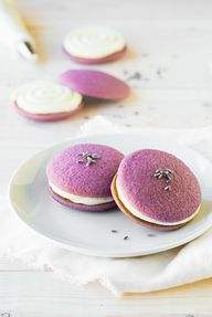 lavender whoopie pie