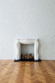/ fireplace