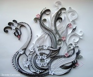 Gorgeous Quilled Swa