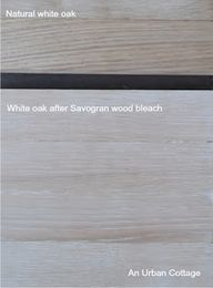 how to bleach wood c