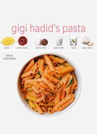 Gigi Hadids Spicy Vodka Pasta Sauce Recipe, Veganized