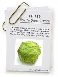 #Tip: How to store l