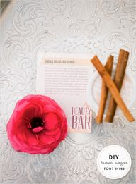 DIY beauty bar for p