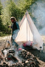 canvas tent//