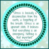 Managing #stress is...