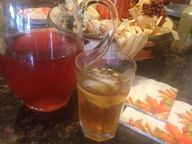Spiced APPLE ICE TEA * 2 easy ingredients * non-alcoholic * sugar or sugar-free * - Cindys ON-Line recipe box