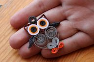 Quilling Owl ^^ by L