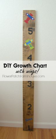 DIY Growth Chart wit