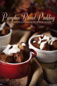 Pumpkin Bread Puddin