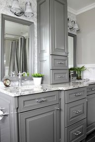 Using custom cabinetry in a bathroom to create your vanity or other storage solutions can really make a huge difference in how well your bathroom works for you and your family on a daily basis. Since we only have two bathrooms in this house, and the other one is super teeny tiny, I knew that …