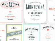 wine Labels by Ryan