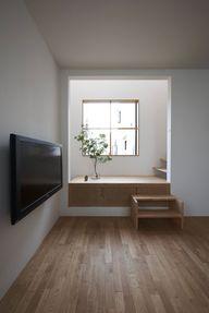 (re)movable bottom stairs (House in Futakoshinchi by Tato Architects)