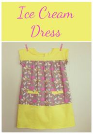 Ice Cream Dress patt