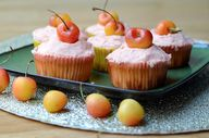 Lemon Cherry Cupcake