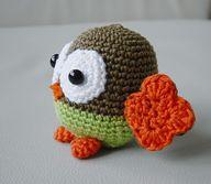 free amigurumi pattern: amigurumi owl
