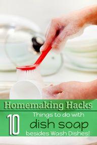 Homemaking Hacks: 10