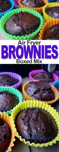 Simple Air Fryer Boxed Brownies | Fluster Buster