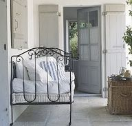 A porch for sleeping