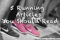 5 Running Articles Y