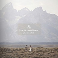 There's no wedding backdrop quite like the Grand Tetons of @Four Seasons Resort Jackson Hole.