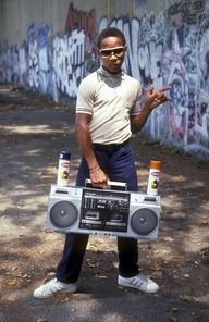 Early 80s hip-hop pi