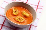 Lecsókrémleves omlet
