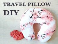 DIY Travel Pillow | Neck Pillow Pattern + VIDEO Tutorial