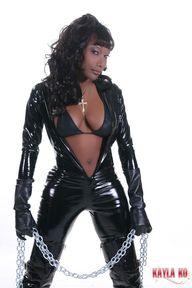 Sexy Black TGirl in